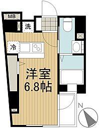 カリーノ三田[2階]の間取り