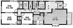 WING中町[3階]の間取り