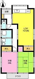 [一戸建] 佐賀県佐賀市高木瀬東1丁目 の賃貸【/】の間取り