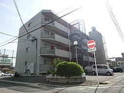 愛知県北名古屋市鹿田坂巻の賃貸マンションの外観