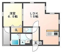 仮)内田橋新築AP[2階]の間取り