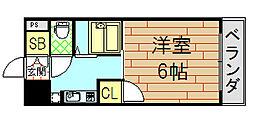 ビクトワール小阪[503号室]の間取り