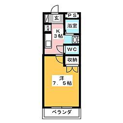 KIDOアーバンライフ[2階]の間取り