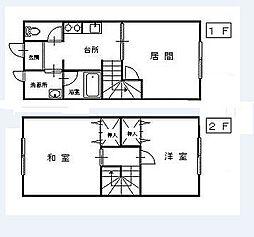 [テラスハウス] 青森県八戸市売市4丁目 の賃貸【/】の間取り