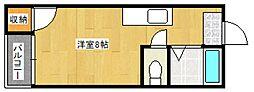 平山ハイツ[102号室号室]の間取り
