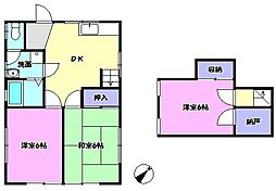 [一戸建] 茨城県守谷市けやき台6丁目 の賃貸【茨城県 / 守谷市】の間取り
