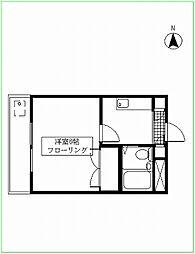 臼井第1ビル[5-B号室号室]の間取り