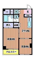 山崎ビル[3階]の間取り