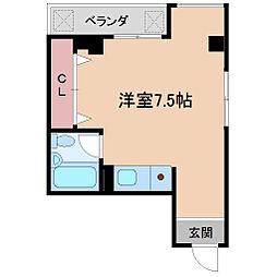 ハイツ渡辺[2階]の間取り