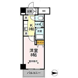 仮)川崎大師レジデンス[603号室]の間取り