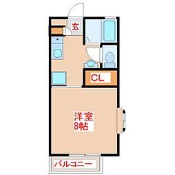 H&Iハイツ[2階]の間取り