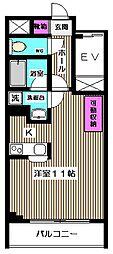 HOUSE倉[4階]の間取り