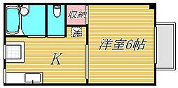 コーポI[2階]の間取り