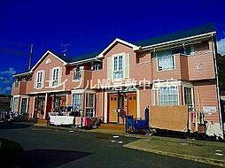 岡山県倉敷市玉島上成の賃貸アパートの外観