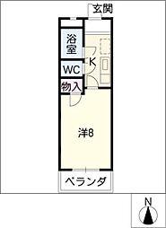 クールソレイユTOHRU[3階]の間取り