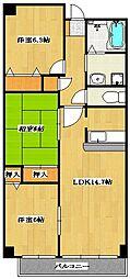 Sunsky 〜サンスカイ〜[2階]の間取り