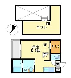 Montaner(モンタネール)[2階]の間取り