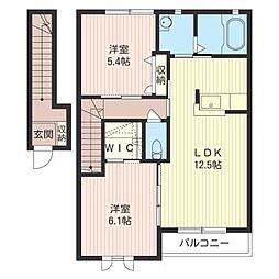 IPM I[2階]の間取り