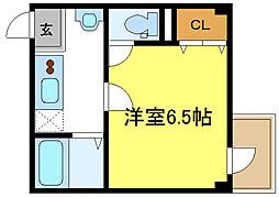 喜連瓜破駅 4.8万円