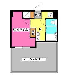 グランフォース所沢[11階]の間取り