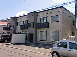 北海道札幌市東区北四十五条東7丁目の賃貸アパートの外観