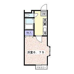 シリウス[2階]の間取り