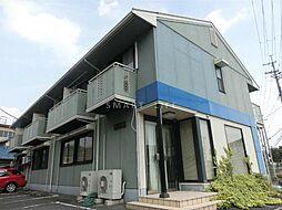 滋賀県大津市下阪本6丁目の賃貸アパートの外観