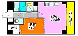 オリーブ・スクエア 406号室[4階]の間取り