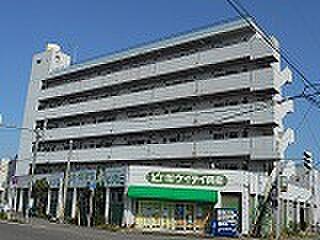 新潟県新潟市中央区日の出1丁目の賃貸マンションの外観