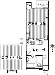 ハイツ318[201号室号室]の間取り