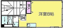 SOPHIA URAKAMI[4F号室]の間取り
