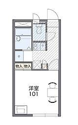 埼玉県さいたま市桜区大字五関の賃貸アパートの間取り