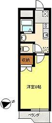 セシリアマンション[3階]の間取り