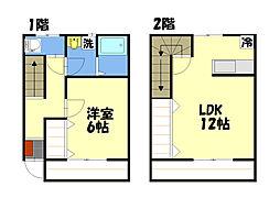 アムニー21[2階]の間取り
