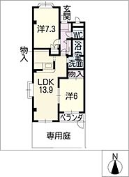Etoile[1階]の間取り
