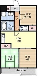 エトワールヤマダ[503号室号室]の間取り