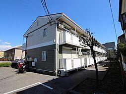 千葉県柏市高田の賃貸アパートの外観