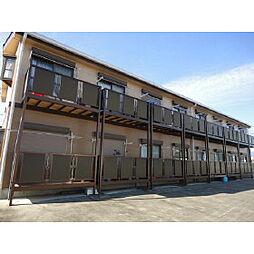 長野県伊那市上新田の賃貸アパートの外観
