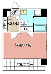 PondMum SUMIYOSHI[401号室]の間取り