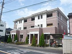 東京都江戸川区平井7丁目の賃貸アパートの外観