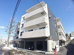 北海道札幌市豊平区西岡二条2丁目の賃貸マンションの外観