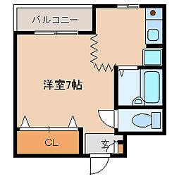 ハイクオリティ神田[3階]の間取り