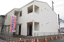埼玉県鴻巣市愛の町の賃貸アパートの外観