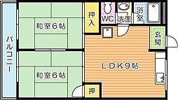 安永第一ビル[4階]の間取り