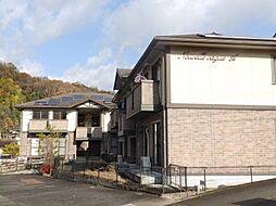 広島県府中市鵜飼町の賃貸アパートの外観