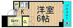 プリエール京町堀[6階]の間取り