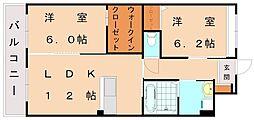 (仮)レジェンドソーラー日蒔野[2階]の間取り