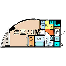 HILL HOUSE3(ヒルハウススリー)[401号室]の間取り