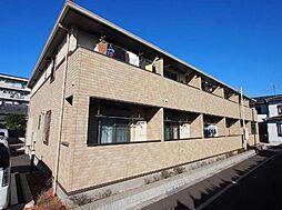 千葉県市川市妙典3丁目の賃貸アパートの外観
