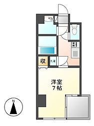 リエス鶴舞 EAST TOWER[7階]の間取り
